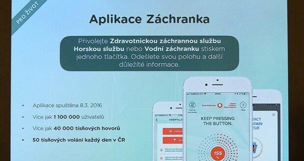 Plzeň se propojila s aplikací Záchranka.