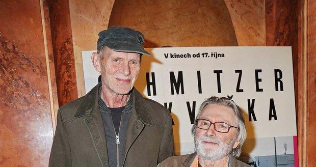 Ladislav Mrkvička s Jiřím Schmitzerem