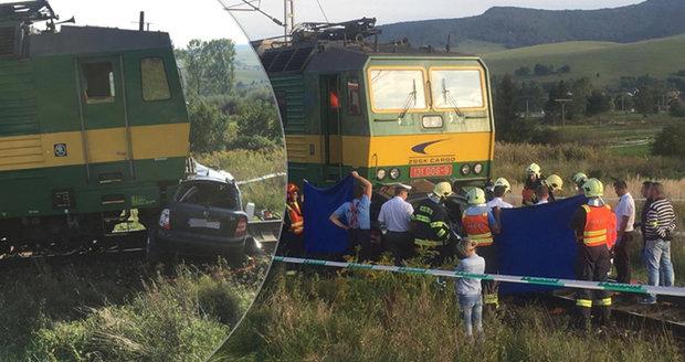 Tři kamarádky zemřely pod koly vlaku. Eva, Evička a Maruška se vracely z práce