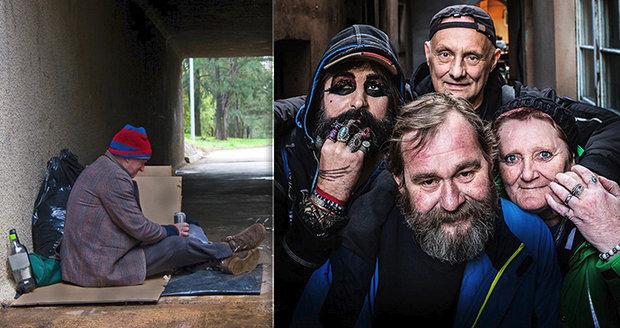 Drogy, prodejný sex, úspěch zničený alkoholem: Čtveřice bezdomovců prozradí, jak přežít na pražské ulici!