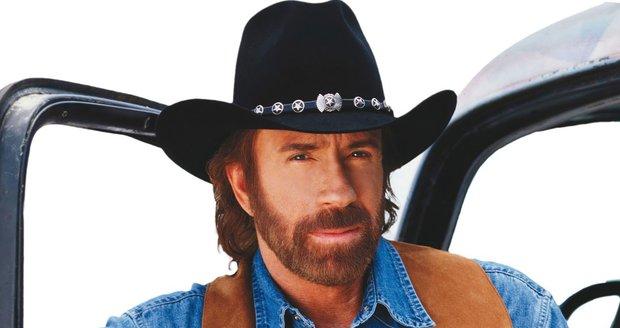 Chuck Norris jako legendární Walker, Texas Ranger