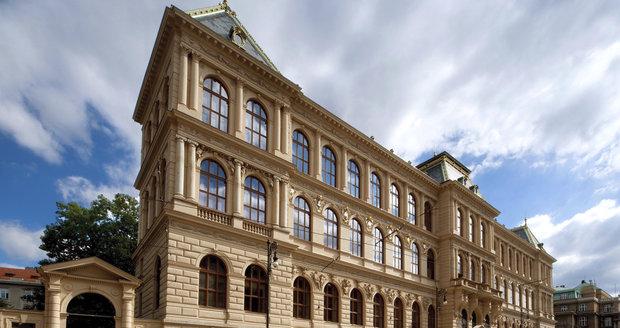 Budova Uměleckoprůmyslového musea v Praze.