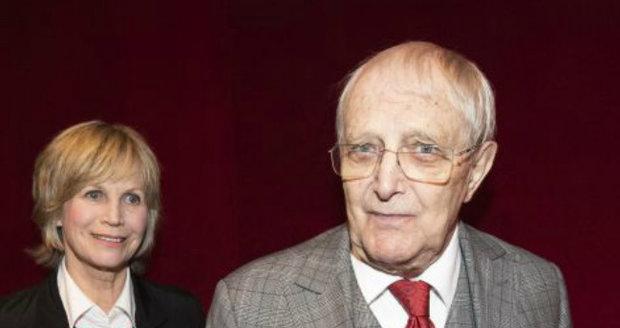 Jiří Suchý a Jitka Molavcová