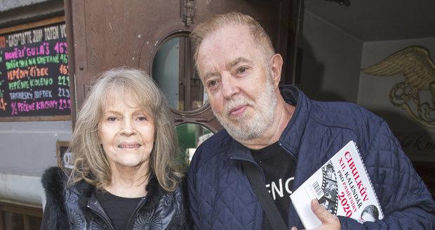 Eva Pilarová s manželem