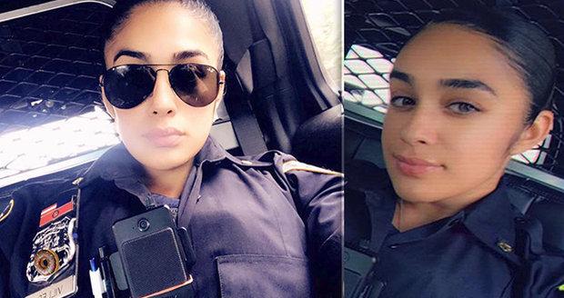 Sexy policistka se stala obětí kolegů: Kolegové se vysmívali nad jejími nahými fotkami