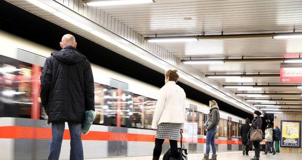 Metro Vltavská (ilustrační foto).