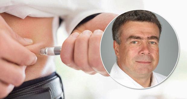 Prof. MUDr. Aleš Linhart, přednosta II. interní kliniky kardiologie a angiologie VFN upozorňuje na nebezpečí cukrovky