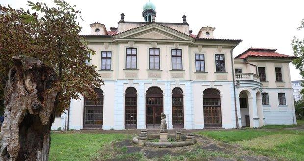 Veleslavínský zámek se otevřel na jeden den veřejnosti.
