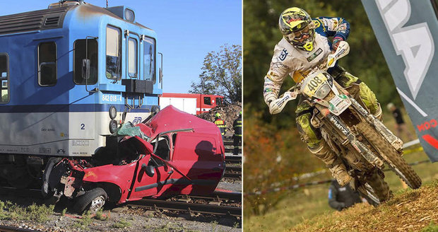Nadějný závodník (†21) vjel na Znojemsku pod vlak! Vezl sestru (†15) přítelkyně