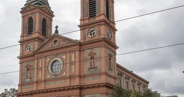 Kostel sv. Václava na Smíchově, kam Karel Gott chodil