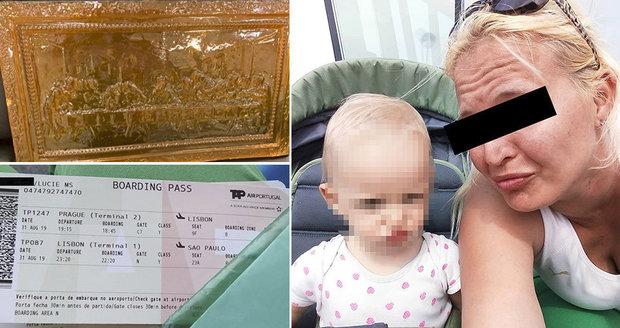 Nečekaný rozsudek nad pašeračkou Lucií: Zneužila dítě, přesto ji pustili z brazilského vězení. Má to ale háček