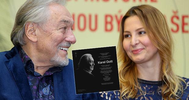 Posmrtná slova Karla Gotta: Nezemřel jsem! Ivana zveřejnila parte