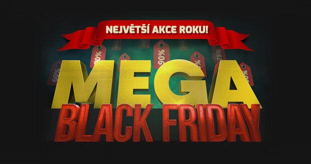 Během Black Friday ušetříte i 60-70 % z původní částky.