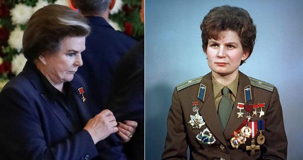 První žena ve vesmíru se ukázala na pohřbu kolegy. Jak se Valentina Těreškovová změnila?