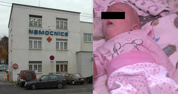 Malá Leontýnka (4 měs.) údajně nedostala antibiotika: Drahocennou dokumentaci rodina ministerstvu nevydá