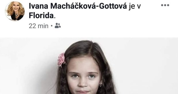 Falešný profil Ivany Gottové