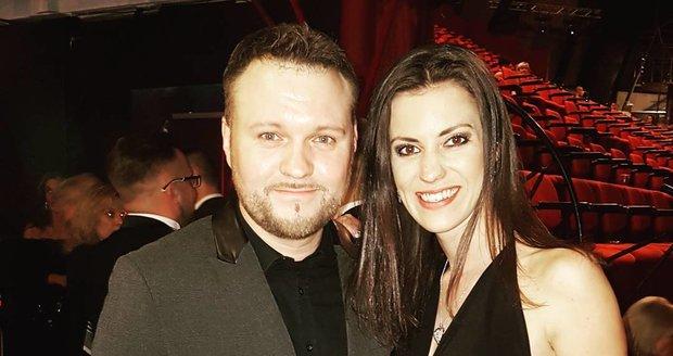 Veronika Zelníčková a její partner Tomáš