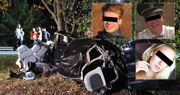 Michal (†22) při předjíždění způsobil brutální nehodu: Jirka (†24) zemřel, Zdenka skončila v nemocnici