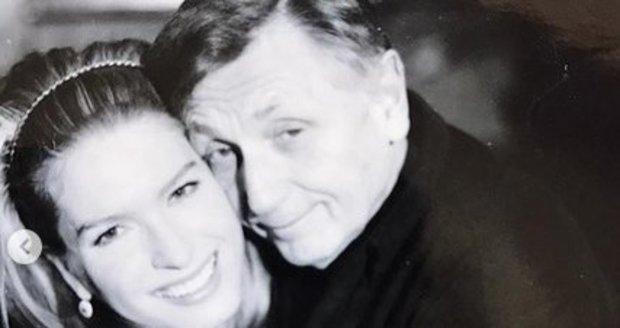 Olga sdílela vzpomínku s manželem.