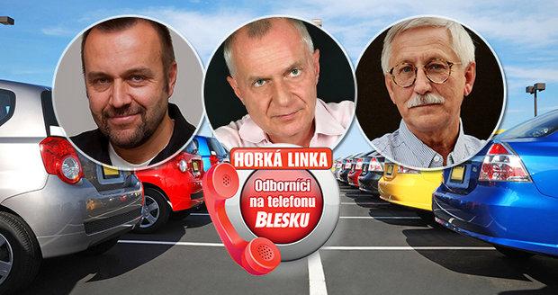 Příští Odborníci na telefonu Blesku přijdou poradit se vším kolem aut.