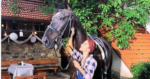 Eva Burešová se potýká s nečekanou fóbií: Z koní!