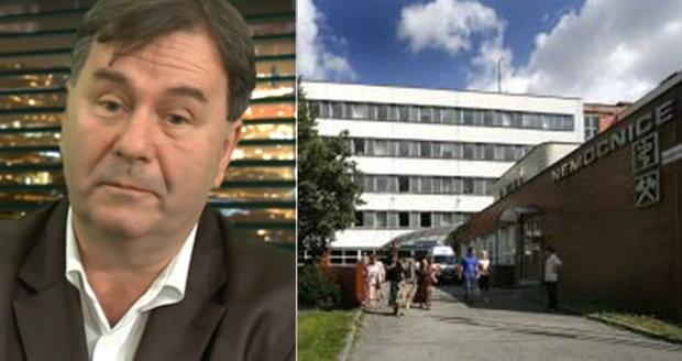 Kritizoval nemocnici v Karviné a skončil. Primáře ortopedie Tomáše Knybela sesadili.