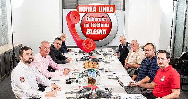Odborníci právě odpovídají v redakci Blesku.