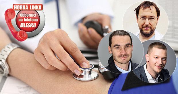 V úterý 12. listopadu se v redakci Blesku představí odborníci na téma zdraví.