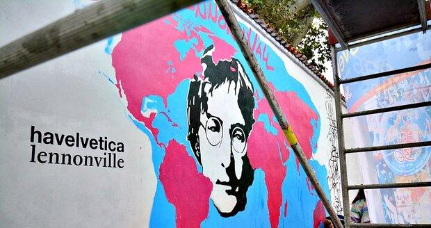 Cílem happeningu je změnit Lennonovu zeď během listopadu na venkovní galerii u příležitosti oslav 30. výročí sametové revoluce.