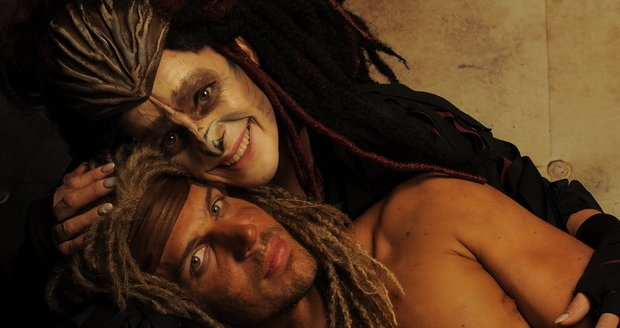 Muzikál Tarzan: Peter Pecha a Dita Hořínková
