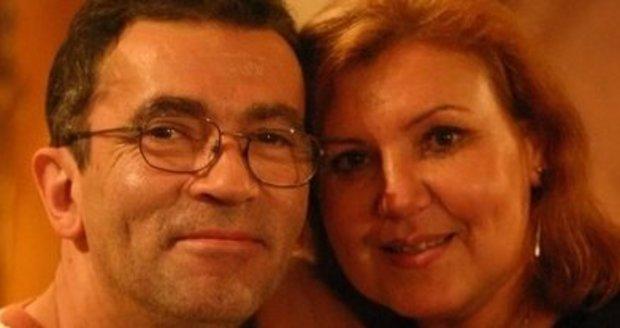 Ľuba Blaškovičová s manželem, který před lety zemřel