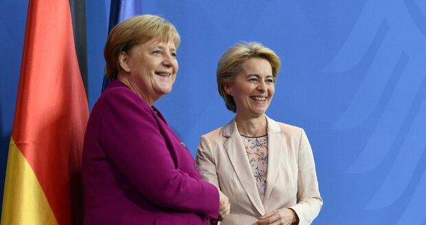 EU chystá nový migrační pakt. S Merkelovou ho piluje budoucí šéfka Evropské komise