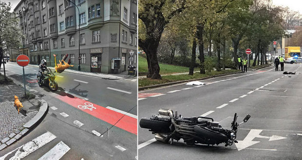 Žena (†35) a pes zemřeli po srážce s motorkou: Takhle k nehodě došlo!