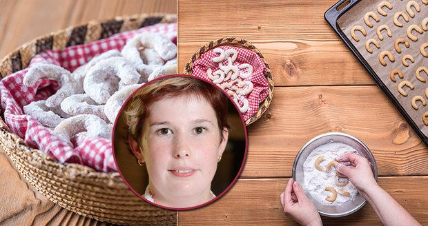 Recept na dokonalé vanilkové rohlíčky