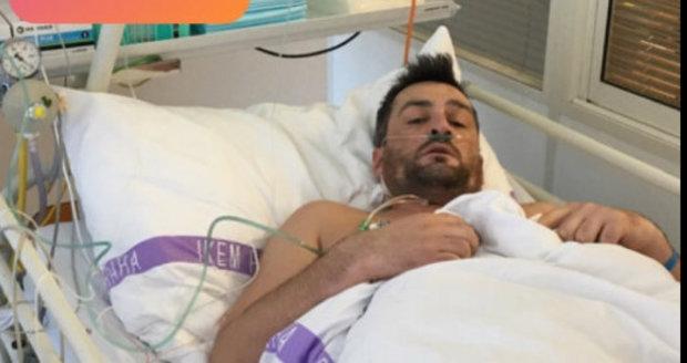 Martin Fenin skončil v nemocnici v pražském IKEM.