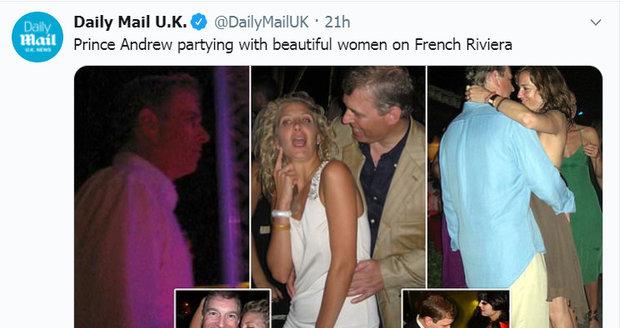 Takto o kauze informuje britský tisk...
