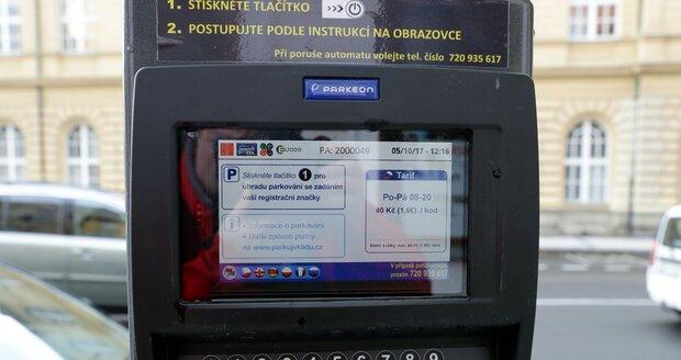 Parkování v Praze.