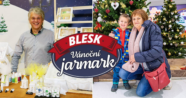 První střídání na vánočním jarmarku Blesku, první dopisy Ježíškovi!