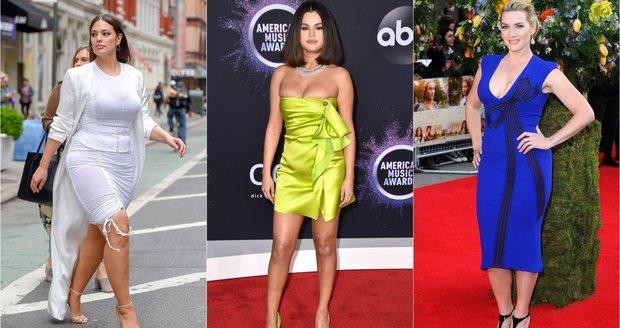 Celebrity, které milují své tělo i když není dokonalé! Inspirujte se