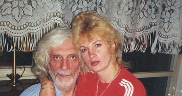 Petr Hapka a kartářka Ivana Regina Kupcová Sádlová