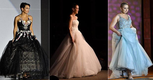 Statečné ženy s onkologickou nemocí pořádaly módní přehlídku.