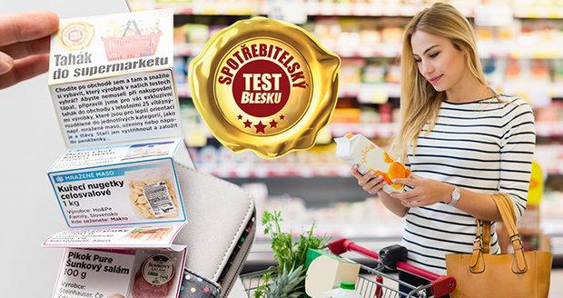 Nenechte si ujít páteční vydání spotřebitelského testu v Blesku! Najdete v něm speciální tahák do peněženky se všemi vítězi letošního roku!