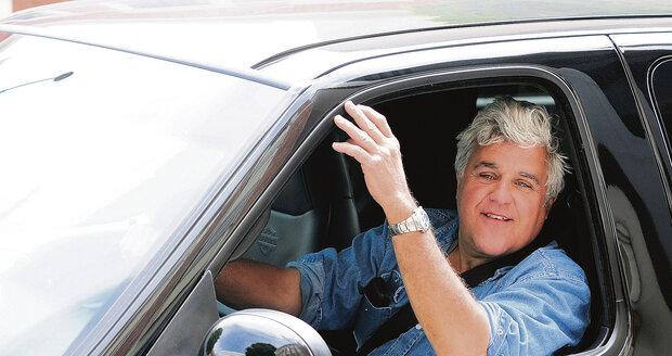 Jay v jednom ze svých vozů