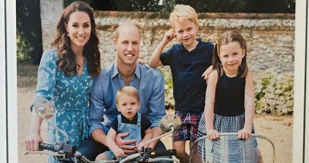 Kate, William a jejich tři děti