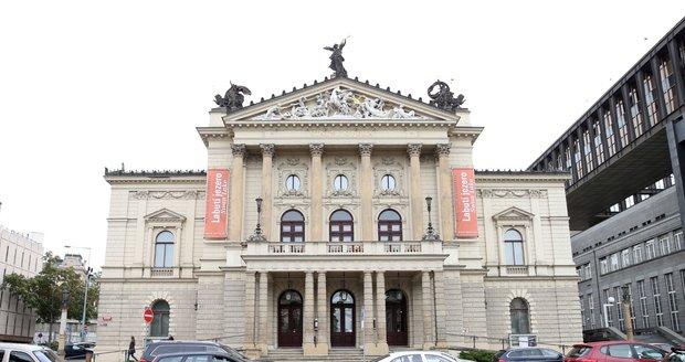 Budova Státní opery v Praze před rekonstrukcí