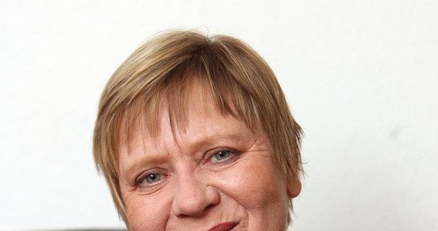 Jarka Obermaierová se zesnulou Nelinkou