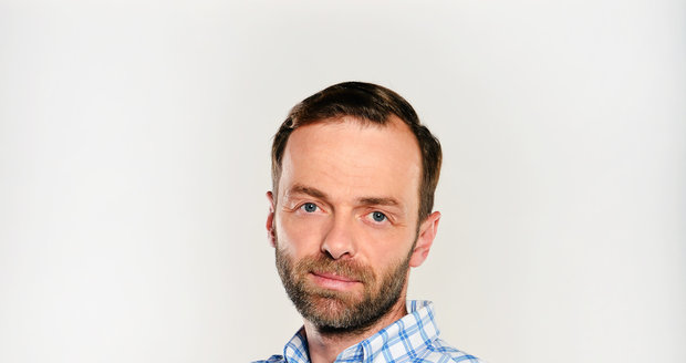 Lukáš Langmajer v seriálu Slunečná