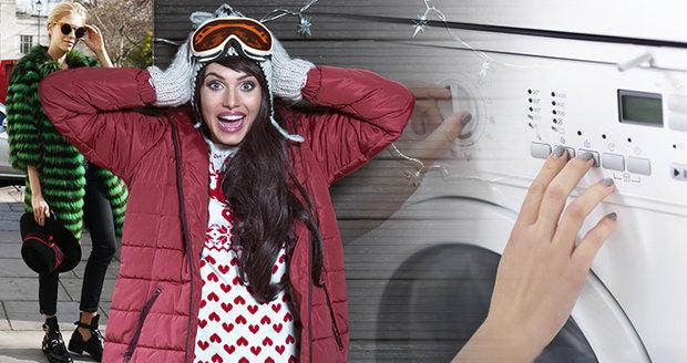 Umíte se o své zimní oblečení postarat i bez čistírny?