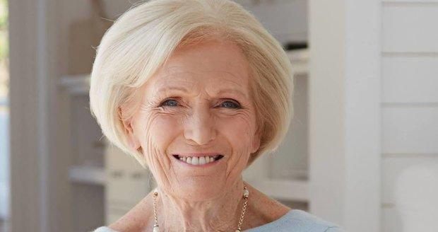 Britská kuchařka Mary Berryová