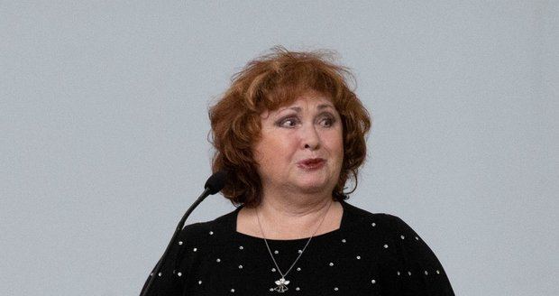 Pohřeb Evy Kocmanové: Naďa Konvalinková